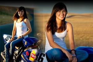 Daniella-Diaz-Gaya-Casual-Pembalap-Wanita
