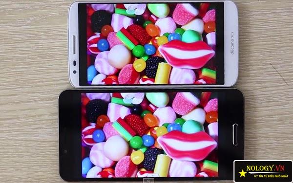 So sánh Sky A900 xách tay và LG G2.