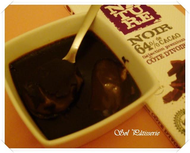Cremes de chocolate