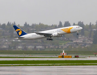 MIAT Mongolian Airlines' new Boeing 767-300ER [Photo: Boeing]