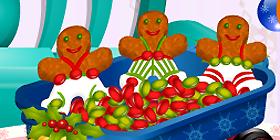 Galletas navideñas con pan de jengibre