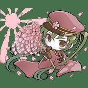 Hatsune Miku senbonsakura