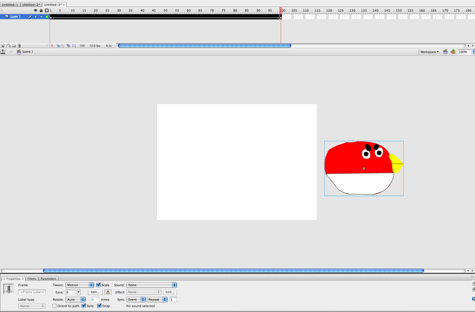 Как сделать чтобы анимация двигалась