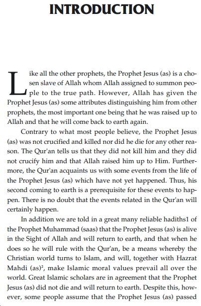 Prophet Jesus will return pdf book