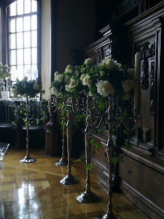 floral centerpieces for wedding at adare manor