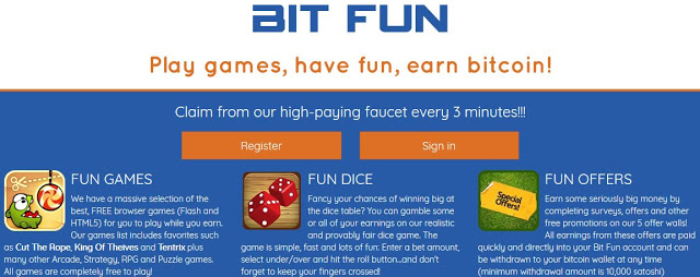 Bitcoins' High Paying Bitcoin Faucet - Free Bitcoins