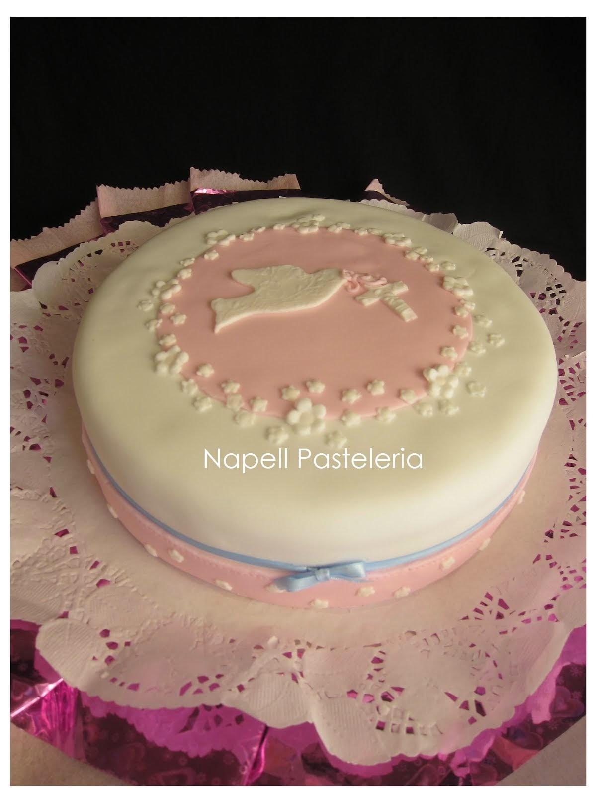 Torta comunión Paloma