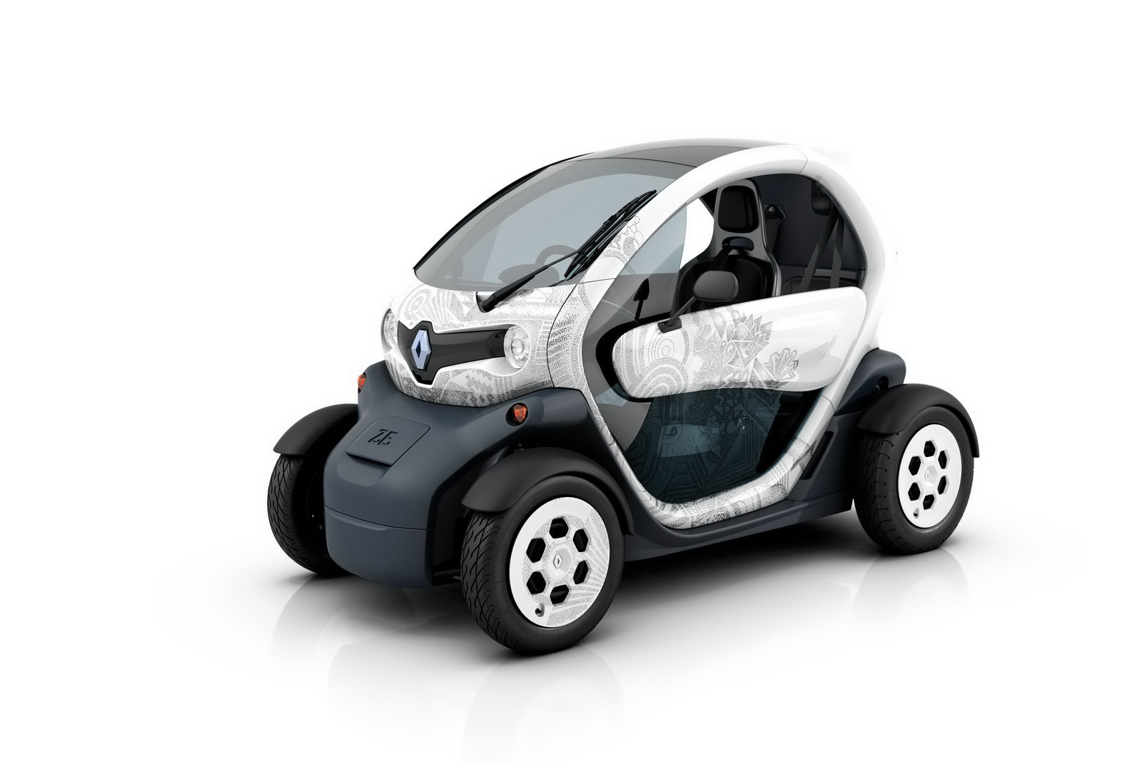 not cias auto renault twizy. Black Bedroom Furniture Sets. Home Design Ideas