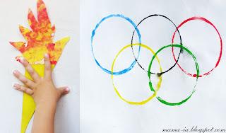 поделки к олимпиаде