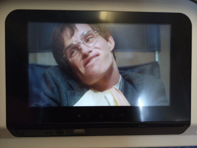 Theory of everything on Cathay Pacific flight