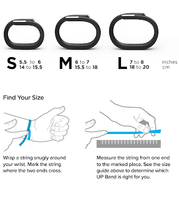 Amazon.com: Jawbone UP Sizing Guide