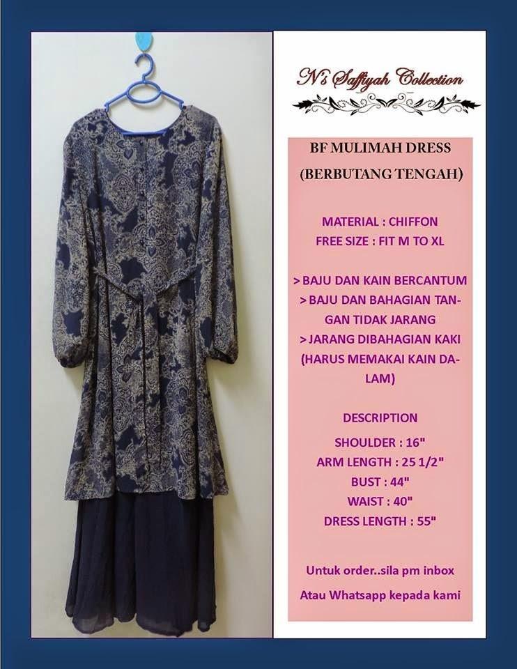 NURSING MUSLIMAH DRESS HANYA RM85 SAHAJA