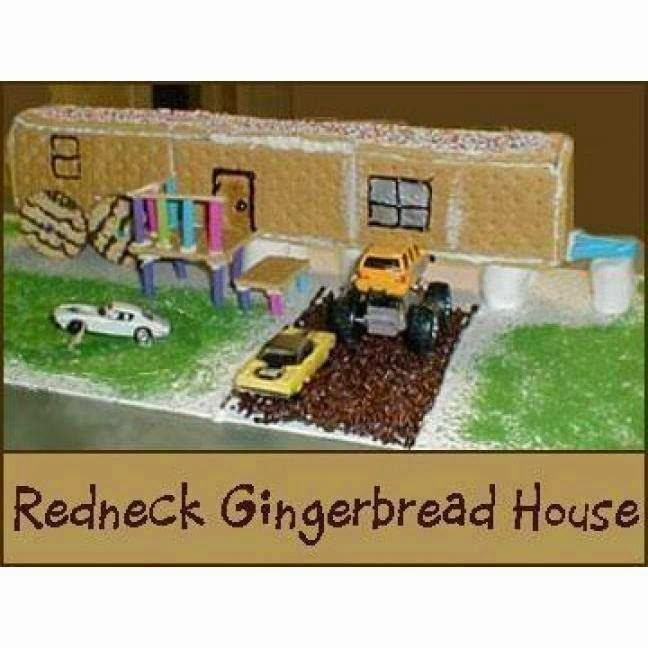 REDNECK GINGERBREAD HOUSE  The Burning Platform - Gingerbread house garage