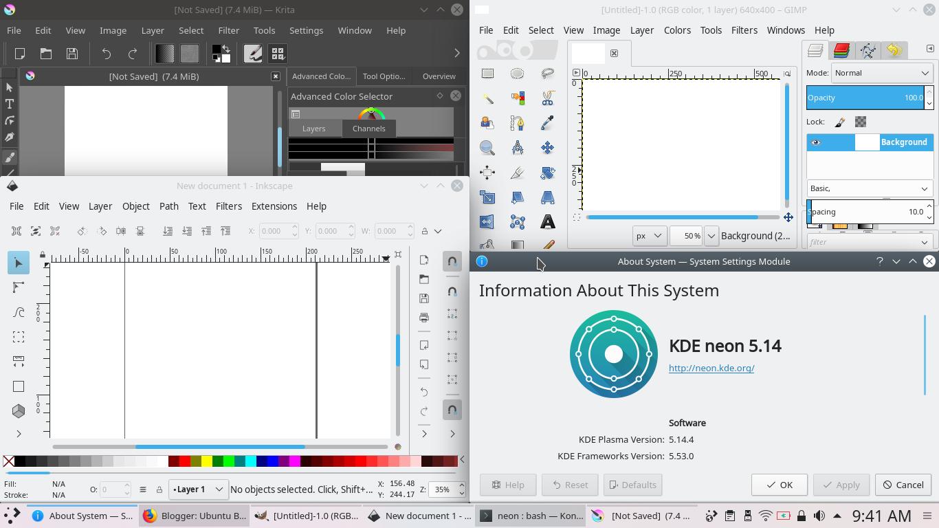 KDE neon for Graphic Designers