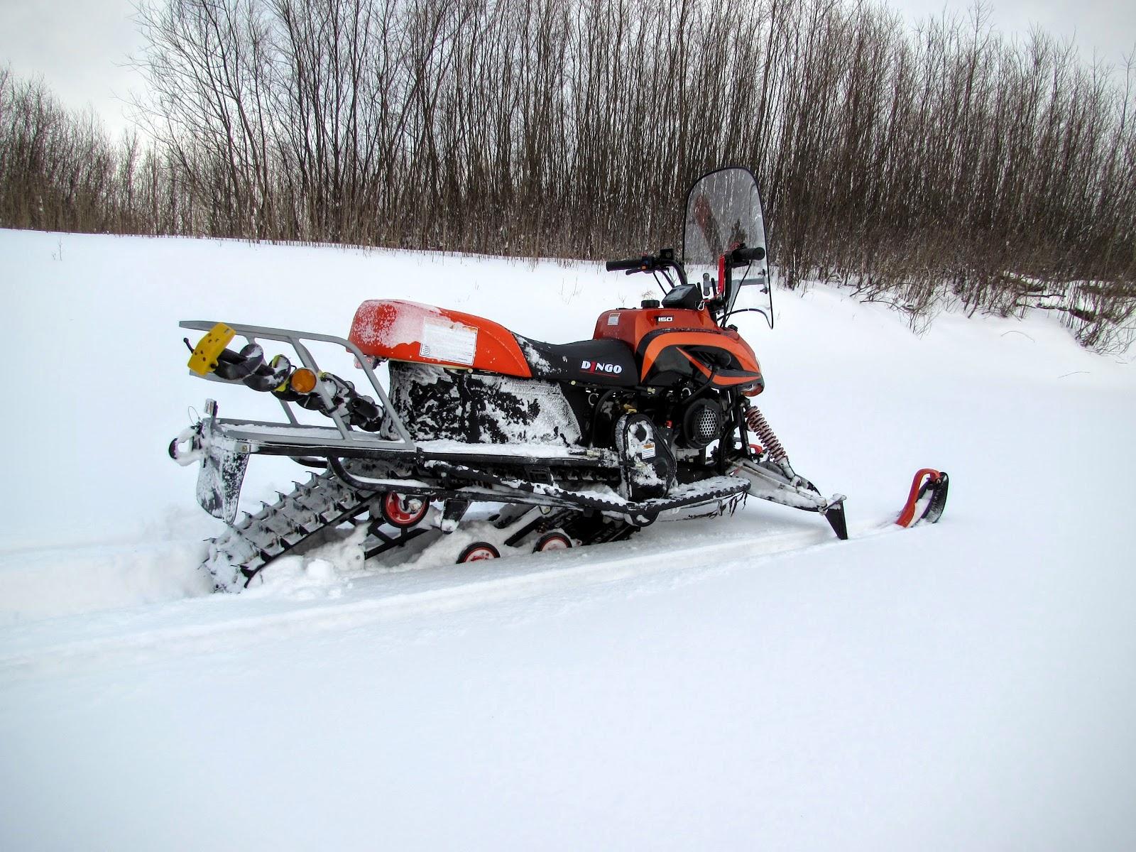 рыбалка на снегоходе динго 150