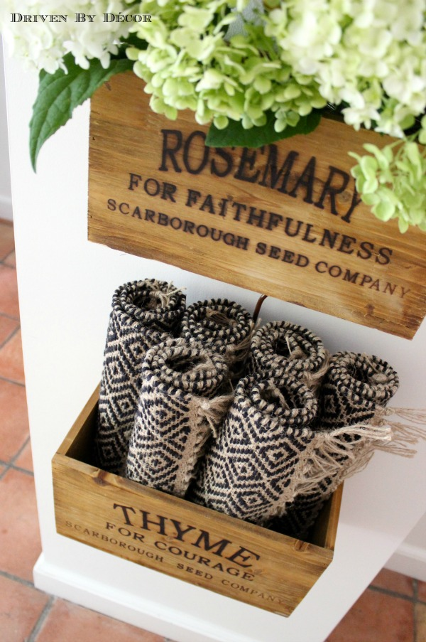Warming Up The Kitchen Nesting Herb Crates