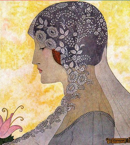 veil art illustrtion