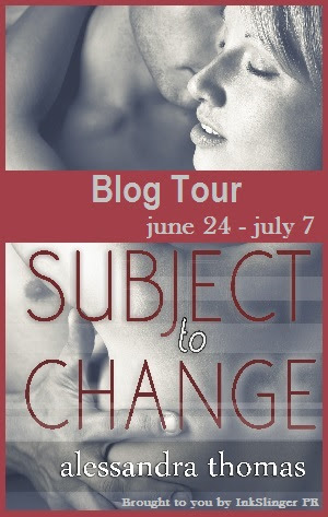 {Interview+Giveaway} Subject to Change by Alessandra Thomas