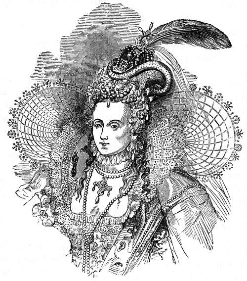 Queen Elizabeth I S Fashions Www Historynotes Info