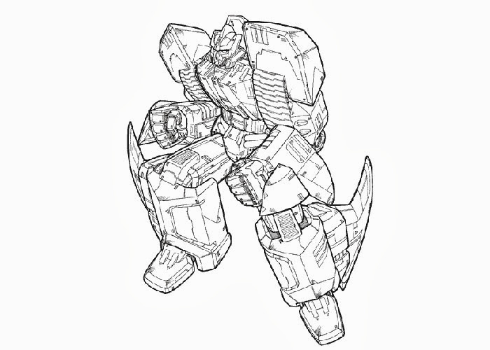 Transformers coloring pages online title=