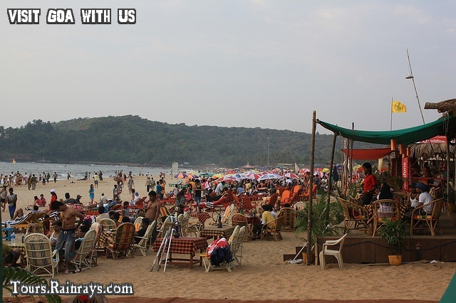 Tourist Place Baga Beach Goa India. India Tour Operator, India travel agent, Indian Holiday Planner