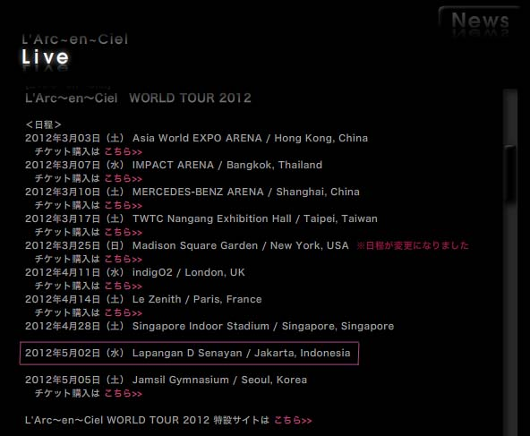 Laruku Adakan Konser di Indonesia