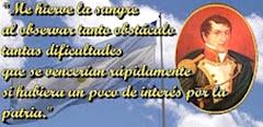 Palabras de Manuel Belgrano, un grande...