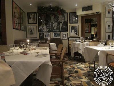 Image of Dining room Montpeliano Italian restaurant in London, England