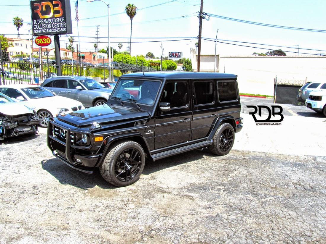 Benztuning mercedes benz g55 amg black on black for Mercedes benz black on black
