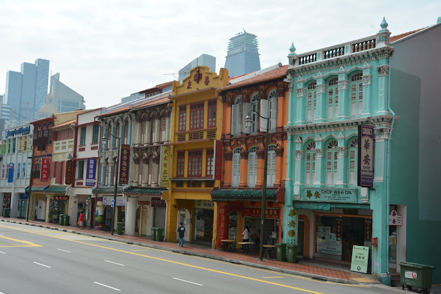 Chinatown Singapore color