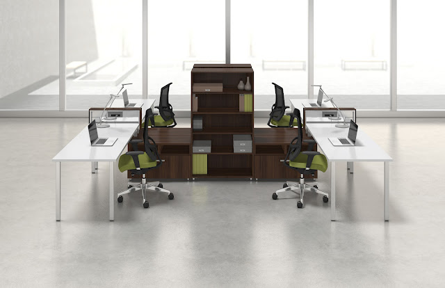 The Office Furniture Blog At Office Cubicles Vs Modular Workstations