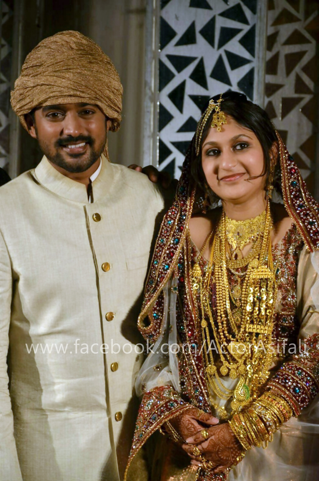 Asif Ali Wedding Pictures  Zama Masreen Marriage Photos