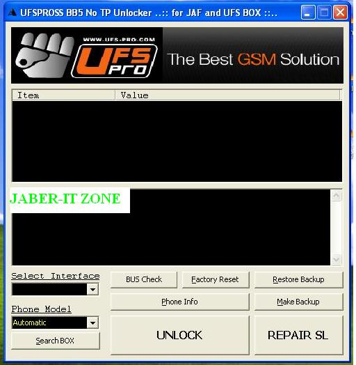 Work with JAF addon BB5 NO TP Unlocker by Cinek 1.03 For PKEY emulation