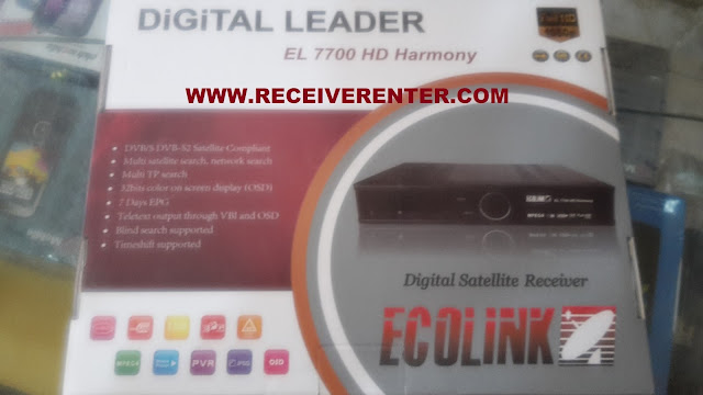 ECHOLINK EL 7700 HD HARMONY RECEIVER BISS KEY OPTION