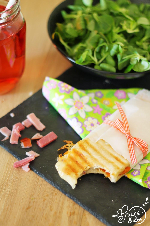 Panini Bacon, Ossau Irraty & Tomates Séchées