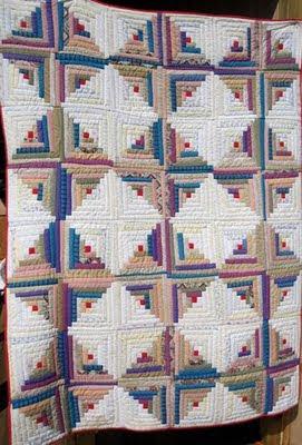Judy's Journal: quilt as you go : log cabin quilt as you go - Adamdwight.com