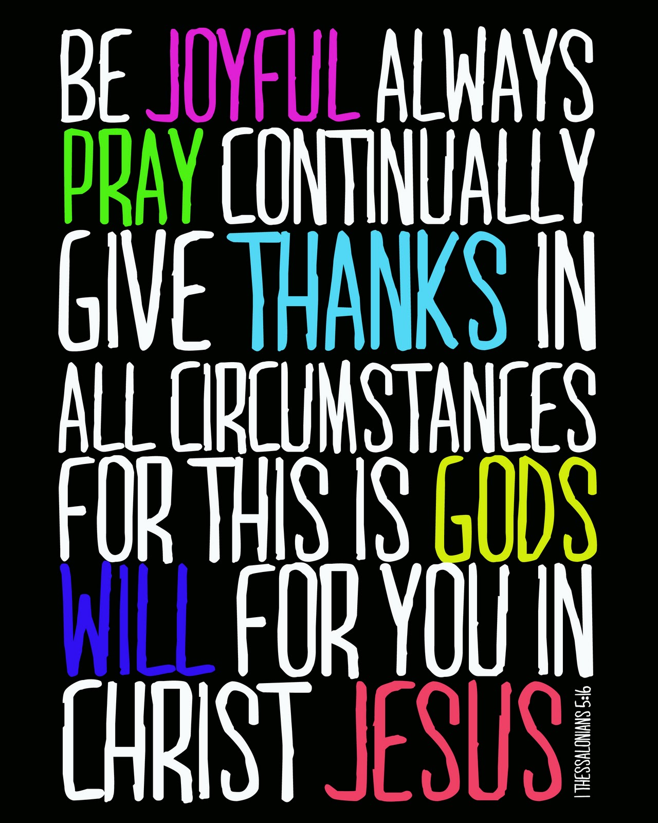 I Thessalonians 5 16 18 Bing Images