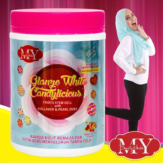Glanz White Candylicious