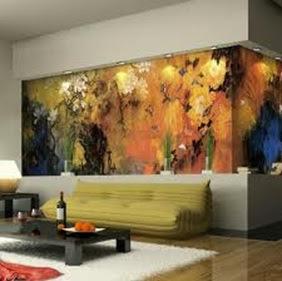 decorar pared de sala