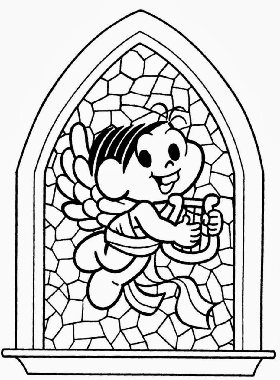 Desenhos de mosaico para colorir formando alunos - Como pintar mosaicos ...