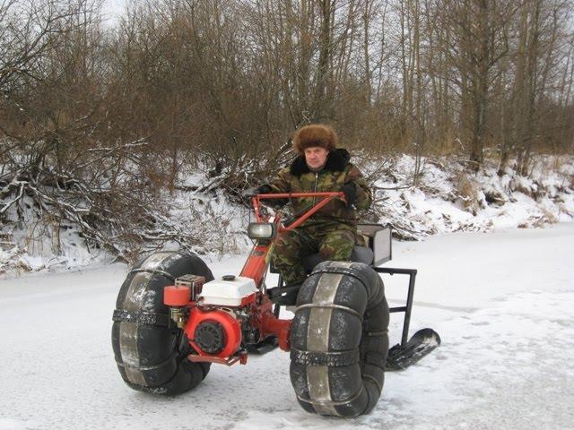 Трактора из мотоблока своими руками