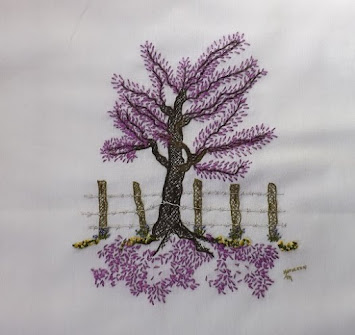 YESTERYEAR EMBROIDERIES come see what is being stitched!