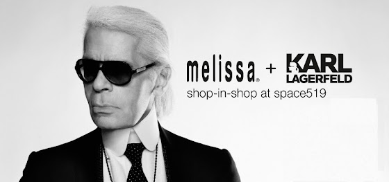 DAIRY QUEEN! Announcing a Melissa + Karl Lagerfeld collaboration.