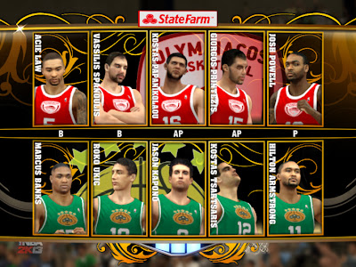 NBA 2K13 FIBA National Teams Mod