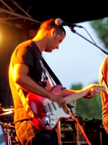 Con mi Stratocaster