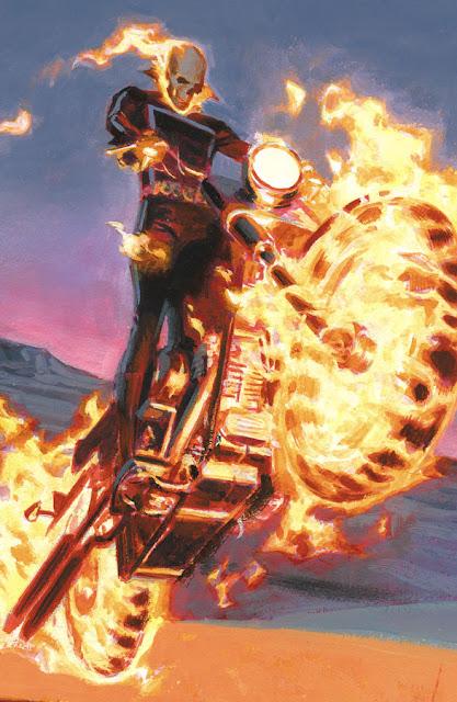 Pintura del Motorista Fantasma Original