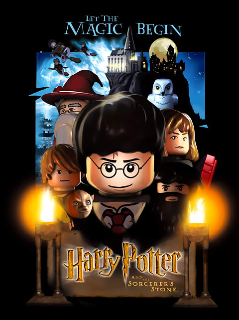 Harry Potter Lego Poster