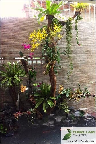 TungLam Garden thiết kế hồ cá Koi, thi công hồ cá trọn gói