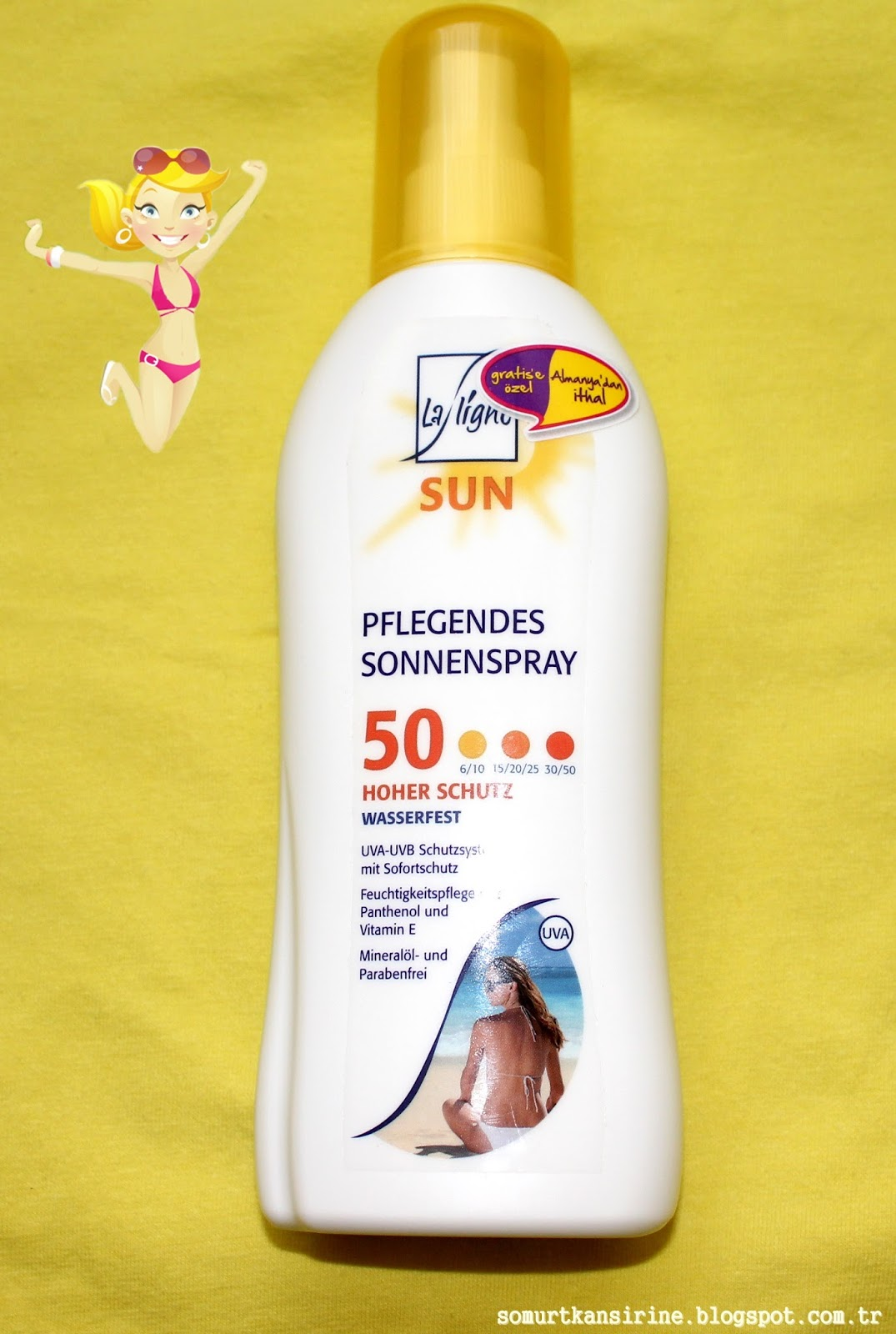 La Ligne Sun Spray
