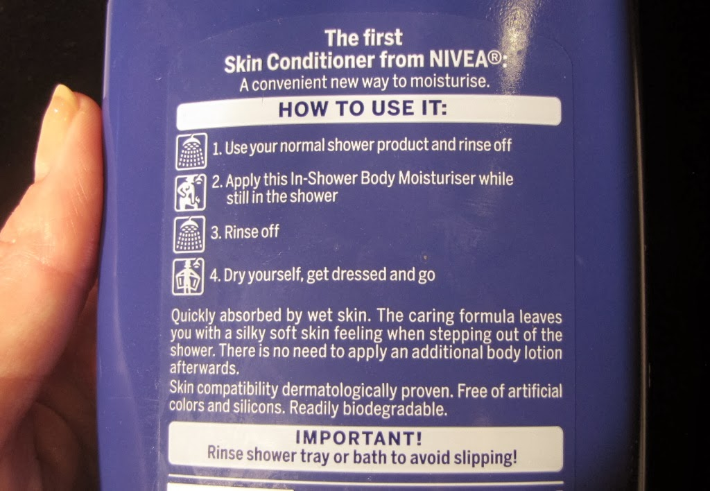 first off the blue bottle which is the dry skin variant has the classic nivea scent it reminds me of my gran the dry skin one is much thicker than the